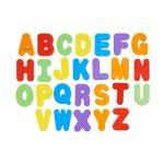 Juguete de baño letras y números 3